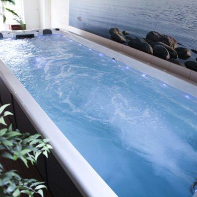 Spa de nage monozone